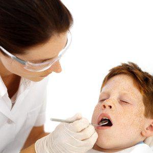 TipsfromTia.com Dentist Examining Little Boys Teeth