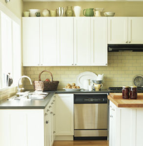 Simple Kitchen Interior --- Image by © Royalty-Free/Corbis