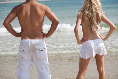 """""""Couple Standing at Back View"""" by imagerymajestic FreeDigitalPhotos.net"""