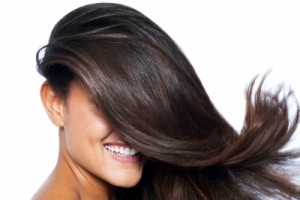 """Lady's Face Covered With Long Straight Hair"" by stockimages FreeDigitalPhotos.net"