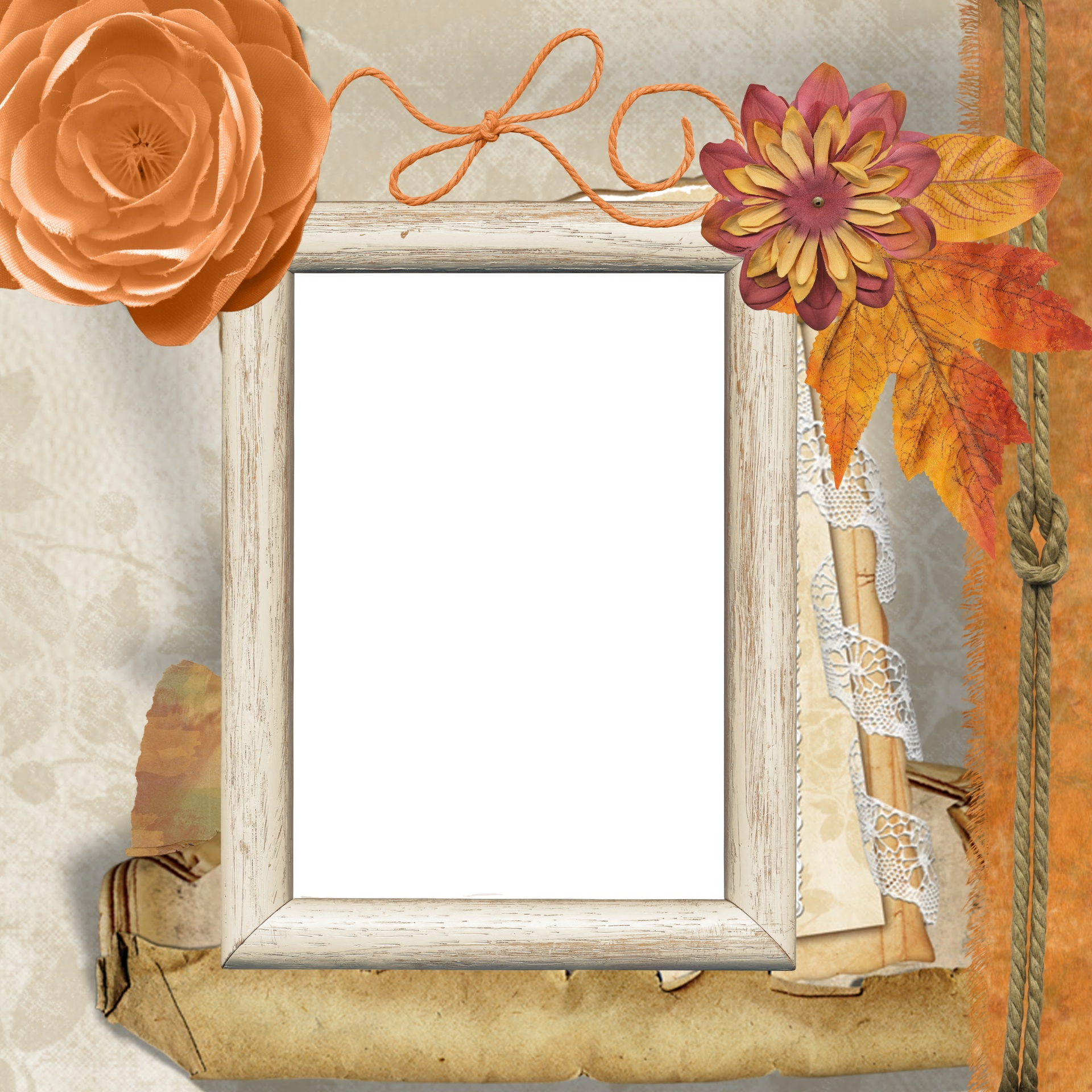 background-scrapbook-vintage-frame