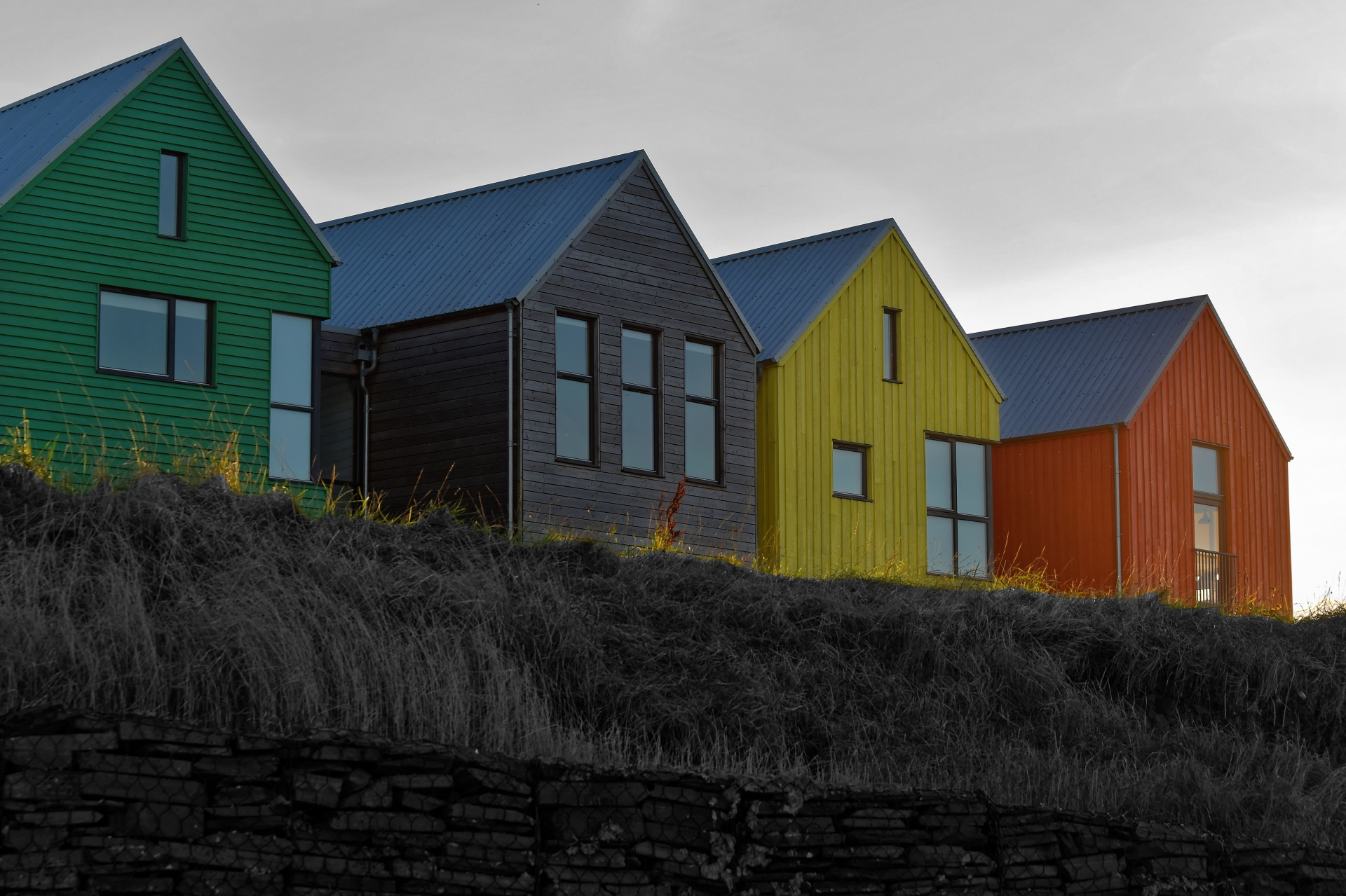 coloured-houses