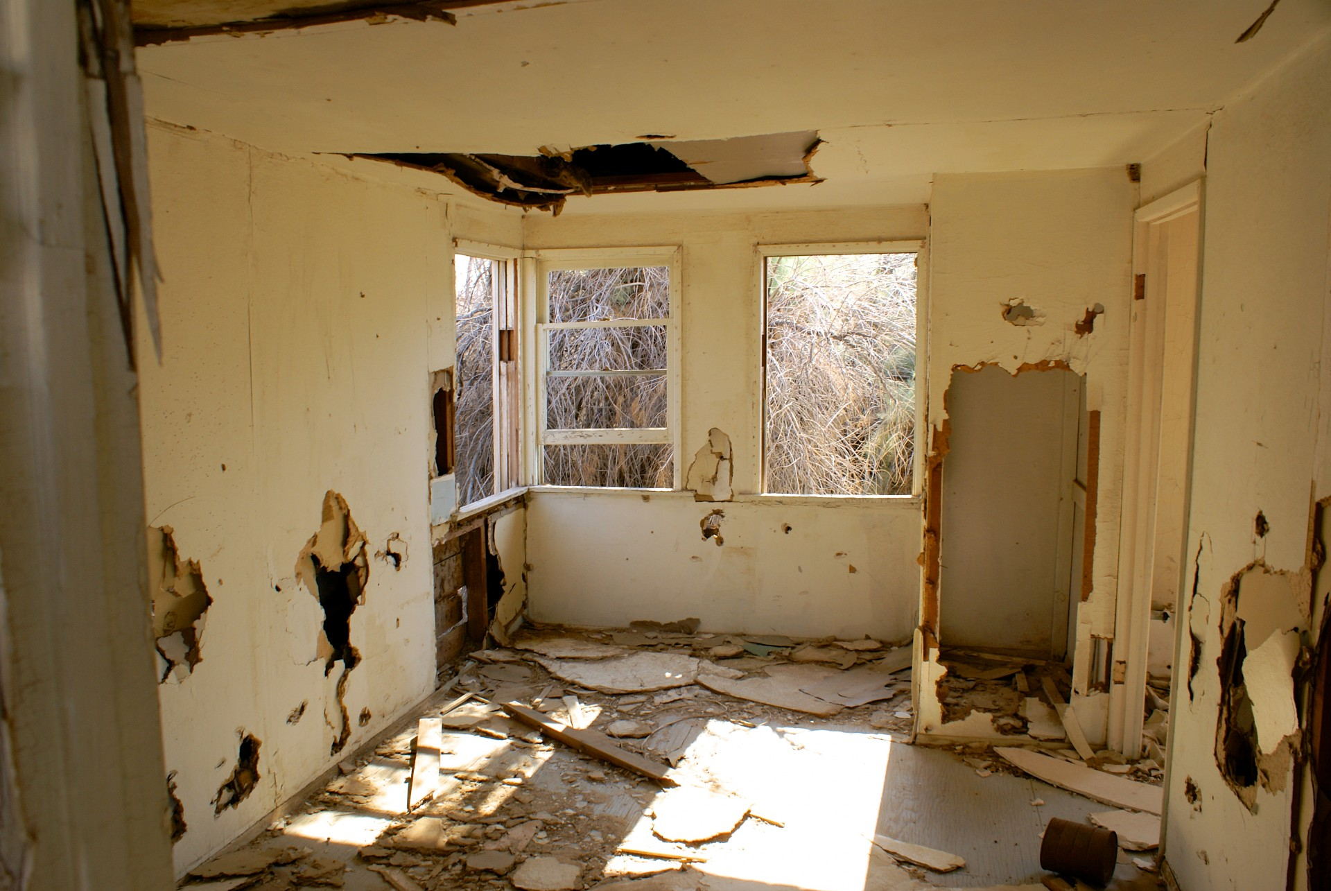 interior-of-broken-down-house
